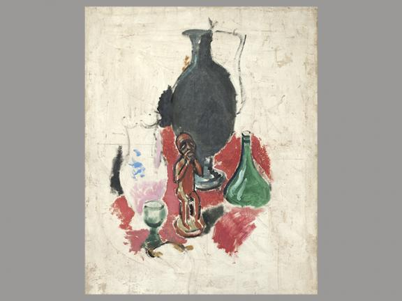 Henri Matisse, Still Life with African Statuette, 1907