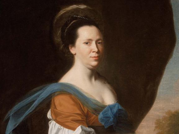 John Singleton Copley, Mrs. James Smith (Elizabeth Murray), 1769