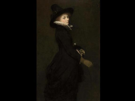Portrait of 19th century woman