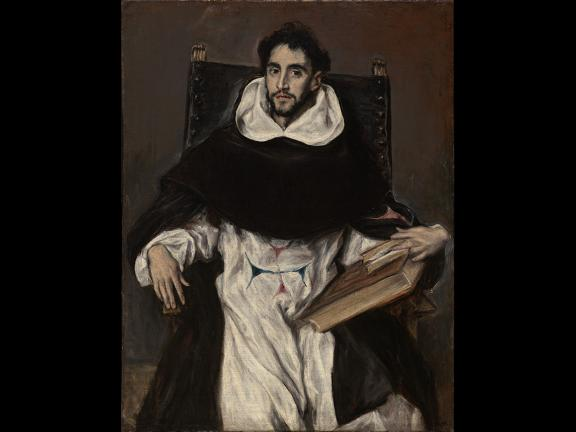 El Greco, Fray Hortensio Félix Paravicino