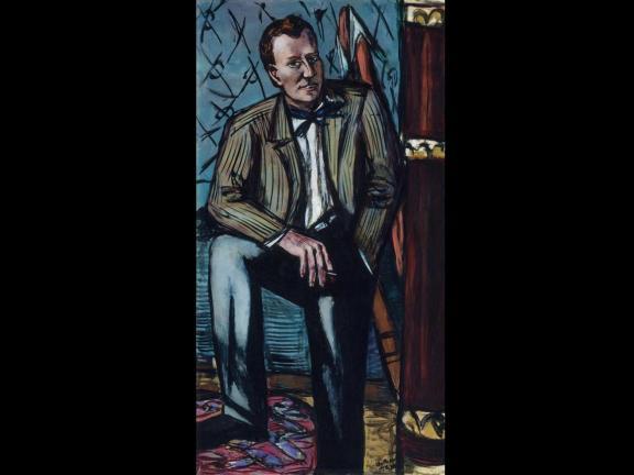 Portrait of 20th century American art museum director