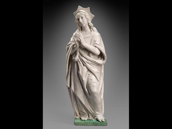 Sculpture of allegorical figure of Hope