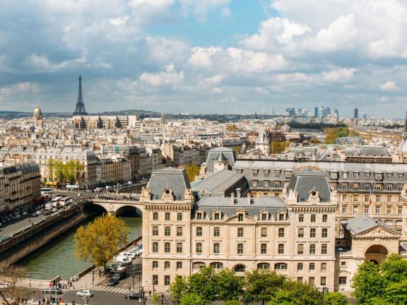 Panoramic picture of Paris