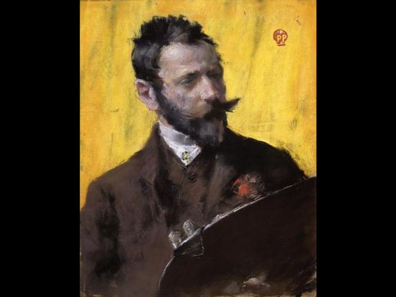 Self-portrait of William Merritt Chase