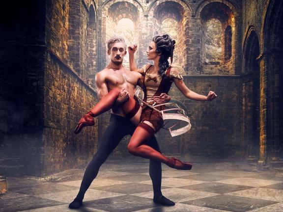 Still from Ballet Live: Casanova