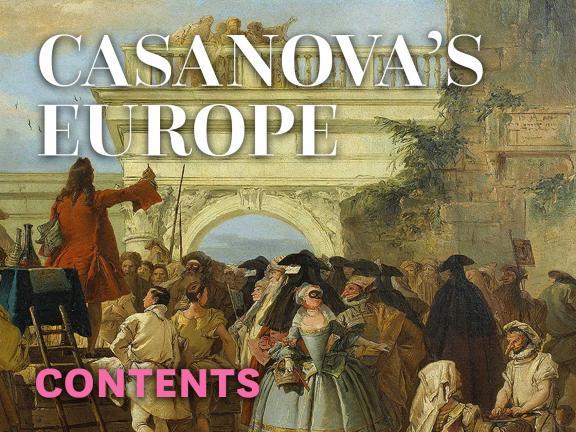 Casanova's Europe: Contents