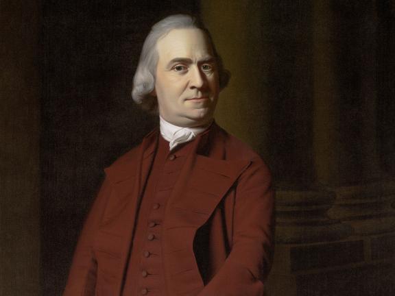 John Singleton Copley's portrait of Samuel Adams