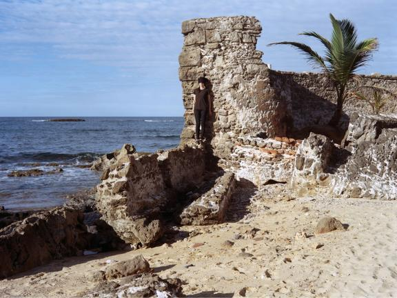 Muralla, photograph of old fort by Anabel Vazquez
