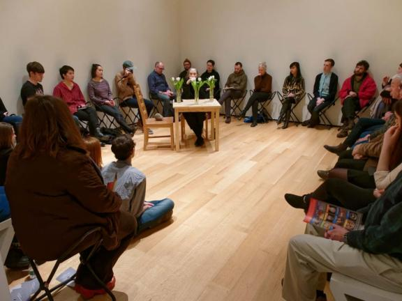 """Marilyn Arsem, """"100 Ways to Consider Time"""" at the Museum of Fine Arts, Boston"""