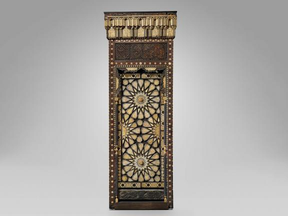 Egyptian minbar (pulpit) door