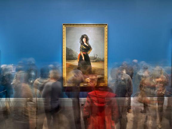 Matthew Pillsbury, Goya's Duchess of Alba, Goya Order and Disorder, Museum of Fine Arts, Boston, 2014