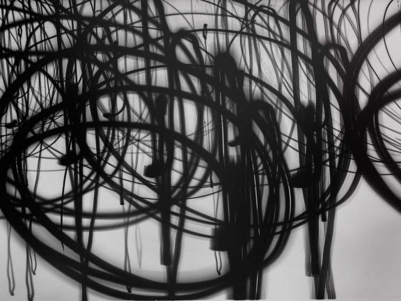 Otto Steinert's photograph, Luminogramm (Light Drawing)