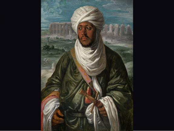 Oil on panel by Peter Paul Rubens titled Mulay Ahmad.