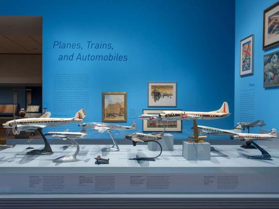 Planes, Trains, and Automobiles Exhibition: Model Planes