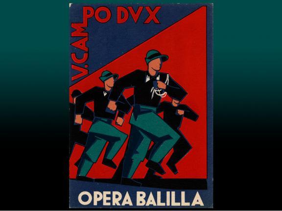 Postcard: 5th Camp Dux, Opera Balilla