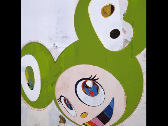 Takashi Murakami, And then, and then and then and then and then / Green Truth, 2006