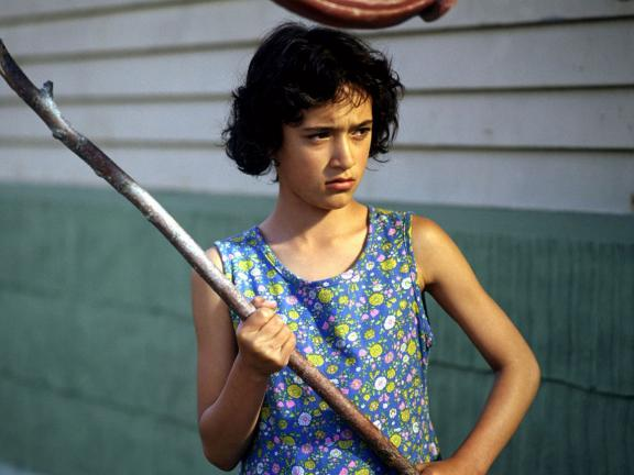 Still from Whale Rider