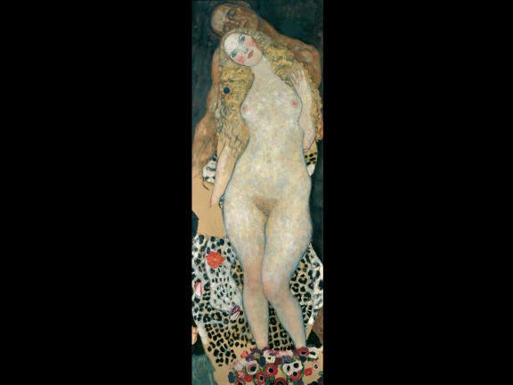 Gustav Klimt, Adam and Eve, 1917–18