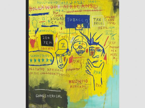 cover image for Writing the Future: Basquiat and the Hip-Hop Generation