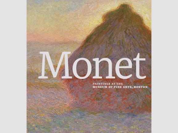 Image of book cover, Monet: Paintings at the Museum of Fine Arts, Boston