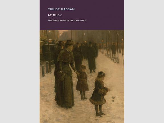 Childe Hassam: At Dusk publication cover