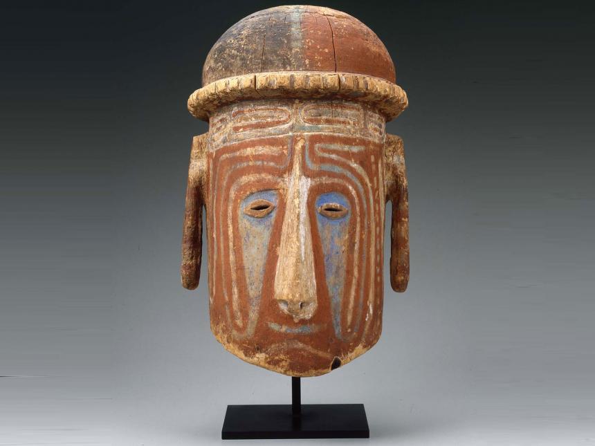 oceanic statue tribal masks