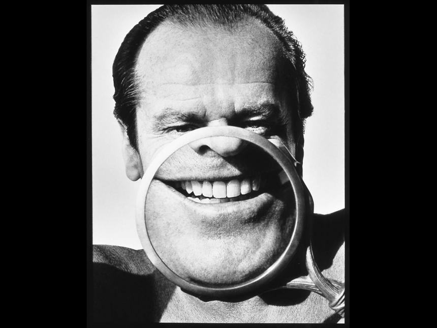 Photograph of Jack Nicholson by Herb Ritts
