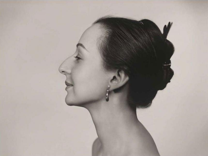 Yousuf Karsh's photography of Estrellita Karsh