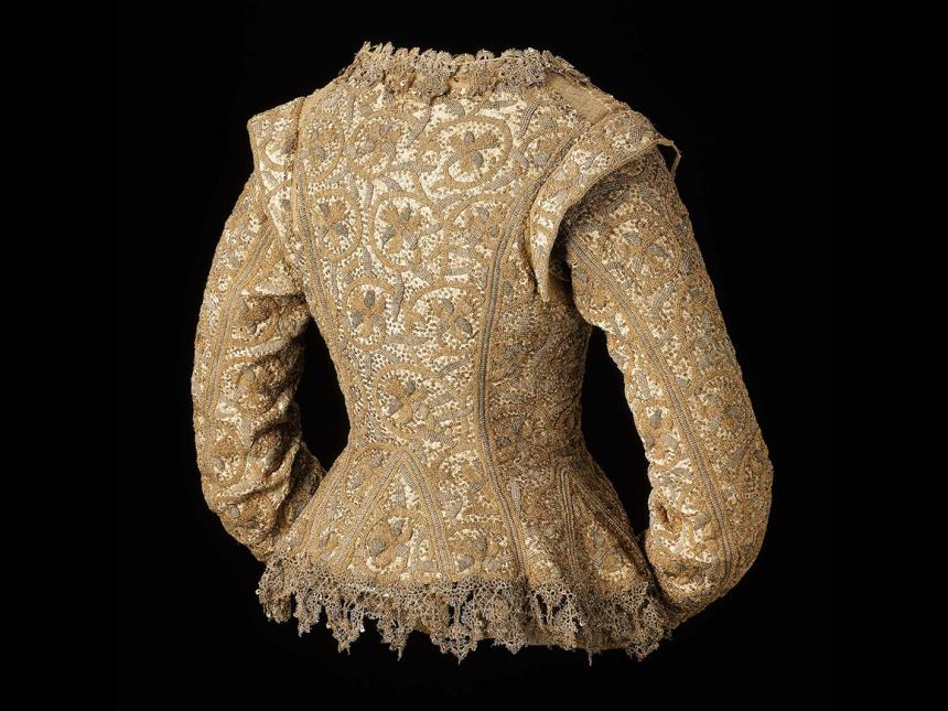 17th century English woman's jacket
