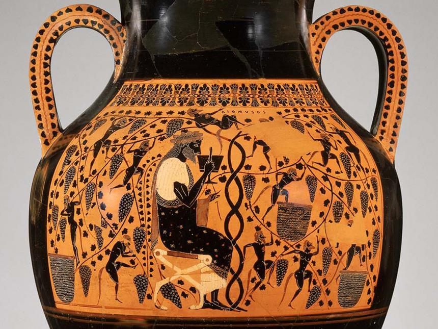 ancient Greek urn