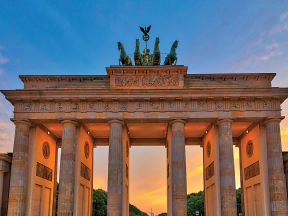 The Branderburg Gate in Berlin